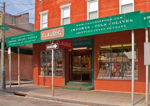 Claudio's King of Cheese, Italian Market, Philadelphia, photograph