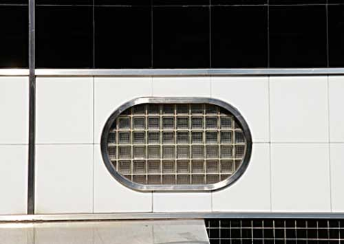 Jim Steak's Window Abstract, South Street, Philadelphia