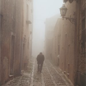 A Walk In The Clouds, Erice' Sicily, Photograph