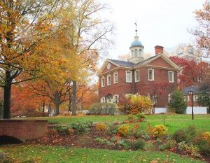 Carpenter's Hall, Historic Philadelphia,Autumn