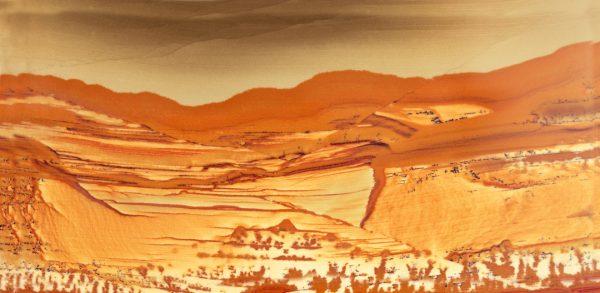South West Hills, Imaginary Landscape series, Jasper stone