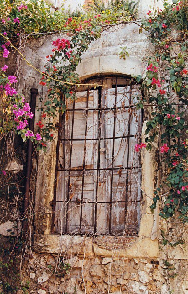 Window And Flowers, Syracuse, SicilySicily
