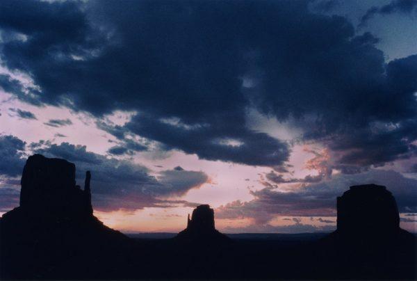 Butts Triplets, Monument Valley, Landscape Photograph