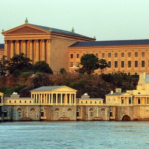 Fairmount Water Works & The Philadelhia Museum of Art
