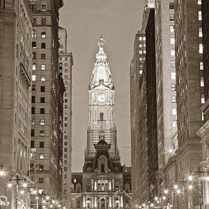 Avenue Of The Arts, B&W, Philadelphia