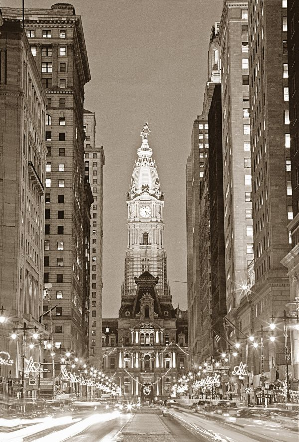 Avenue Of The Arts, B&W, Philadelphia