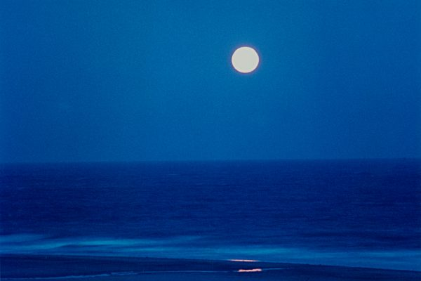 Blue Moon, Biddeford Pool Maine, photograph