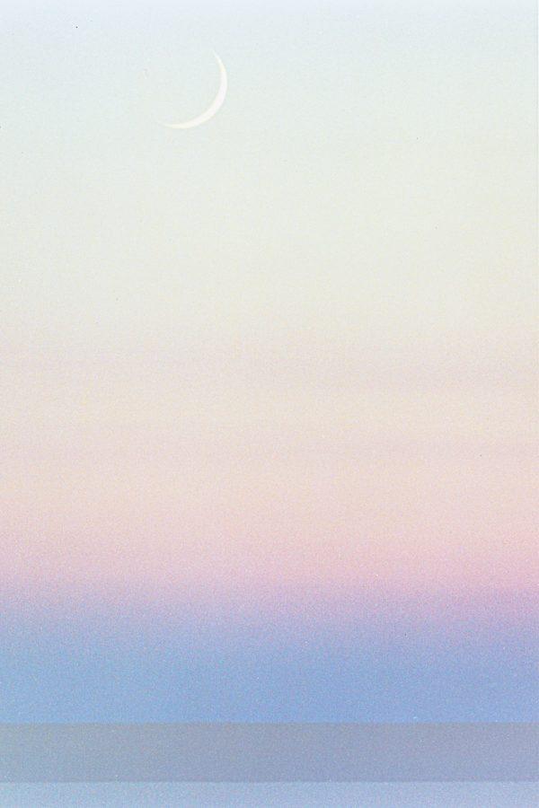 Crescent Moon, Beach Haven New Jersey,photograph