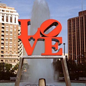 Love Sculpture and Fountain, Philadelphia