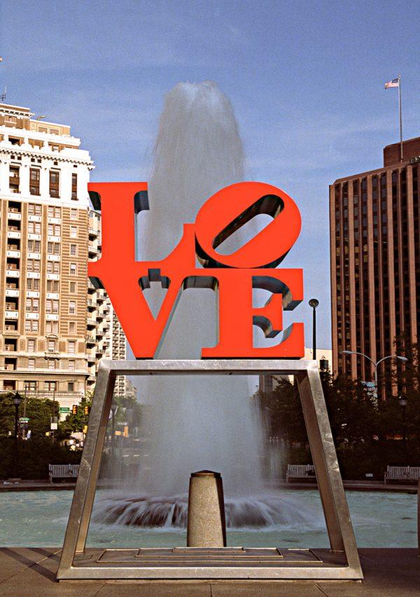Love Sculpture and Fountain, Philadelphia