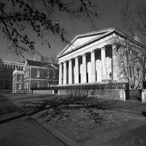 Second Bank Of the United States, historic Philadelphia, photograph