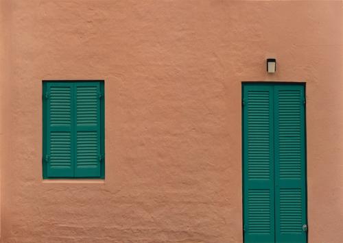 Two Shudders, Bermuda, Abstract photograph