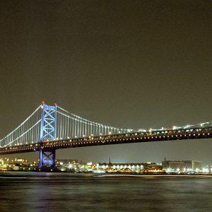 Bejamin Frankln Bridge #2, Philadelphia