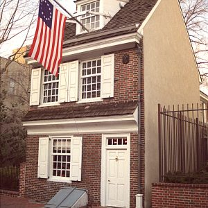 Betsy Ross House, Historic Philadelphia, photograph