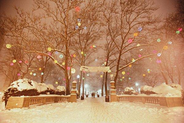 Luminaire In The Square, Rittenhouse Square, Philadelphia, photograph
