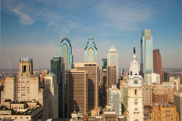 PSFS Philadelphia Skyline, photograph