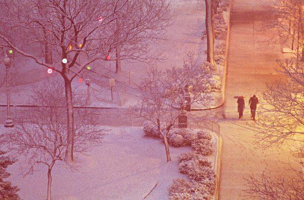 Winter Walk #2, Rittenhouse Square