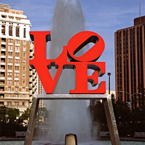 Love Sculpture, Love Park, Philadelphia