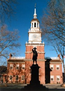 Independence Hall, Philadelphia, photograph