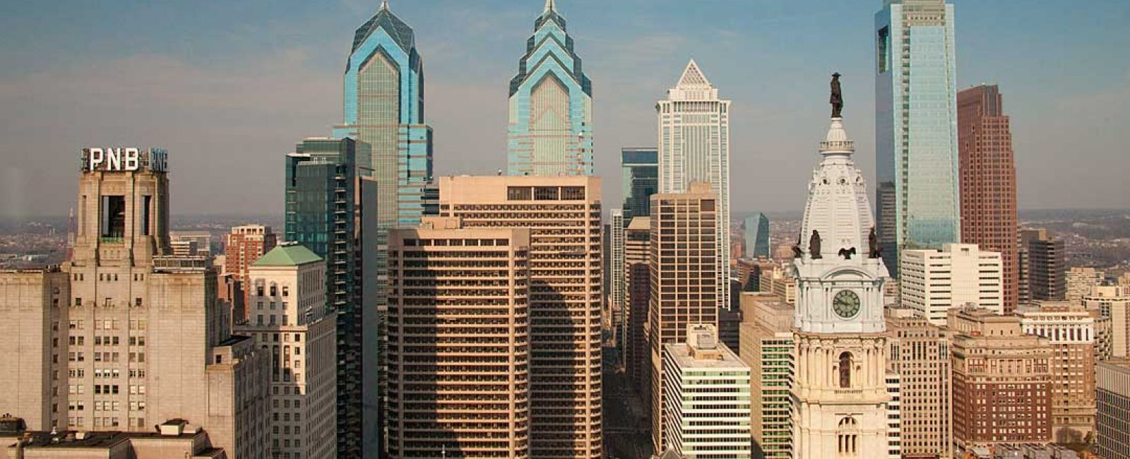 Philadelphia Skyline, Loews Hotel View